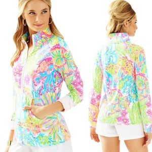 Lilly Pulitzer Skipper Popover Lovers Coral